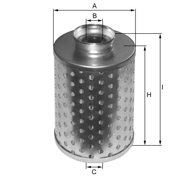 ML1136 Hydraulikfilterelement