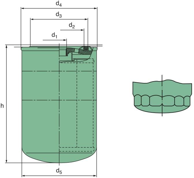 W 712/65 Wechselfilter SpinOn silikonfrei