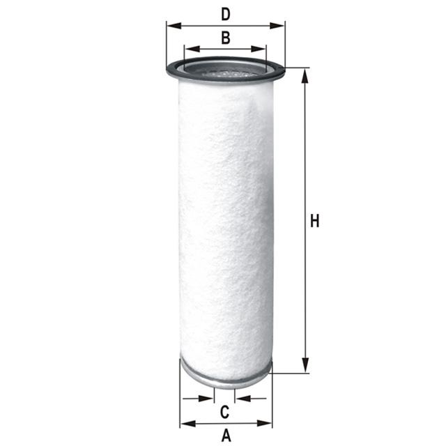 HP656 Luftfilterelement (Sekundärelement)