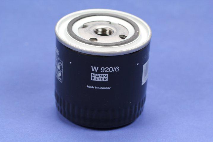 W 920/6 Wechselfilter SpinOn