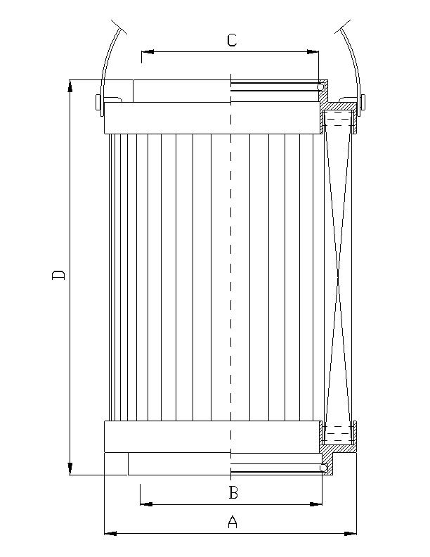 C221G10 Hydraulikfilterelement Coreless