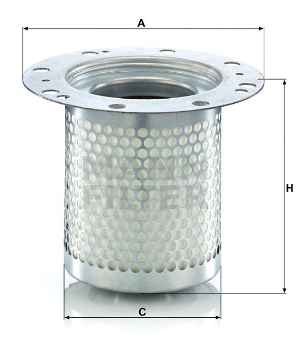 LE 7003 x Luftentölelement (inkl. Dichtung)