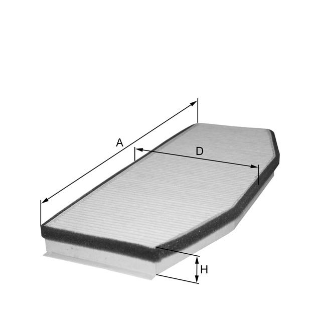 HC7042 Innenraumfilterelement
