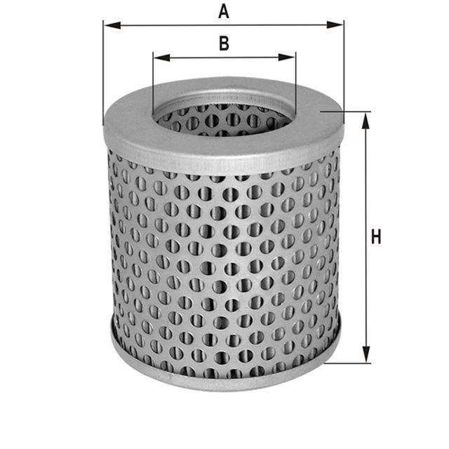 HP4576 Luftfilterelement