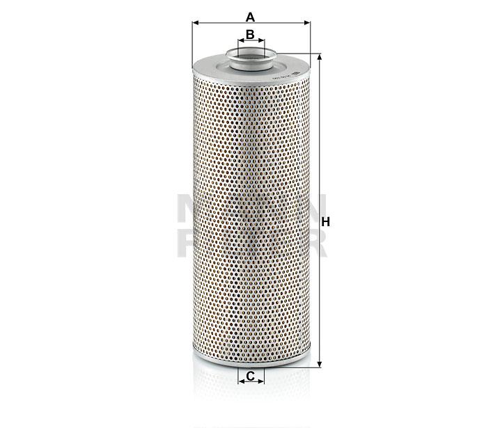 H 15 190 n Flüssigkeitsfilterelement