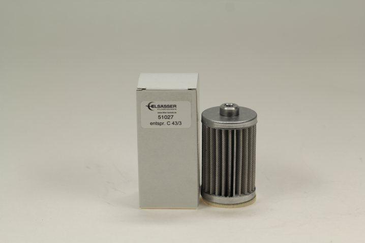 51027 Luftfilterelement entspr. C 43/3