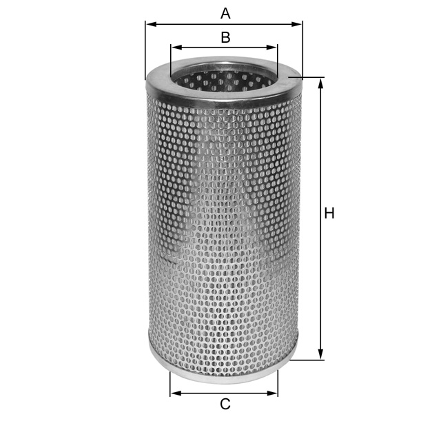 ML1225 Hydraulikfilterelement