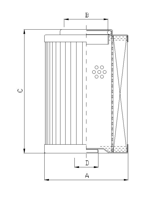 D932G06A Filterelement für Druckfilter