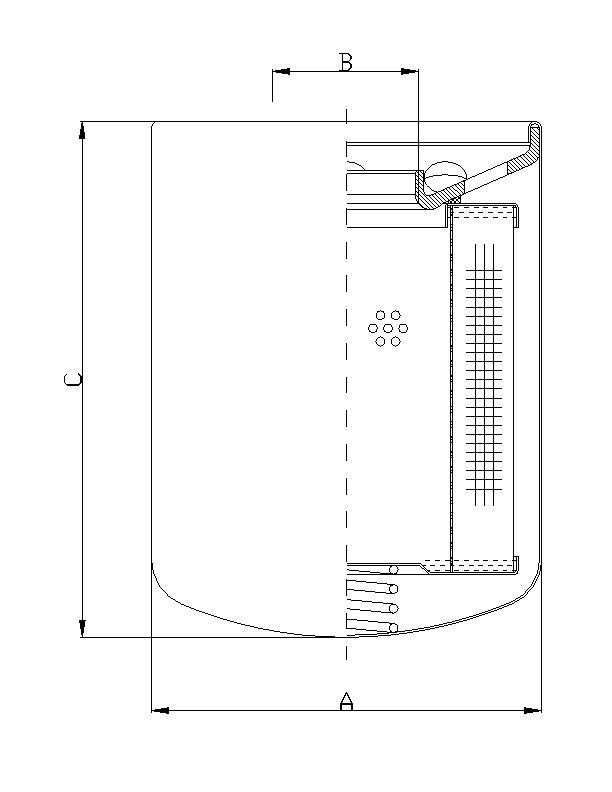 A150G10 Wechselfilter SpinOn