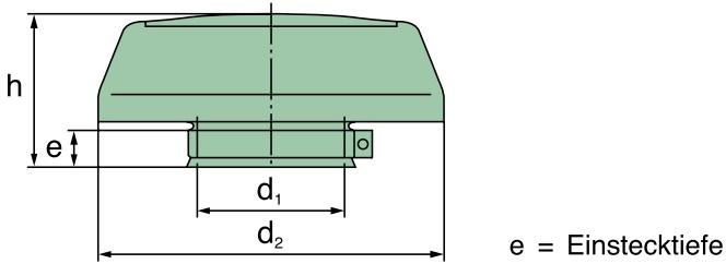 45 880 67 100 Regenkappe St, D=150mm