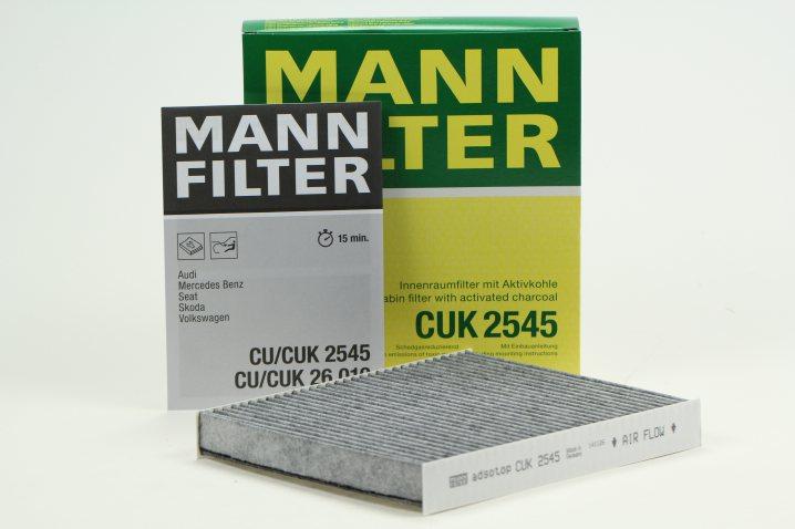 CUK 2545 Innenraumfilterelement (Aktivkohle)