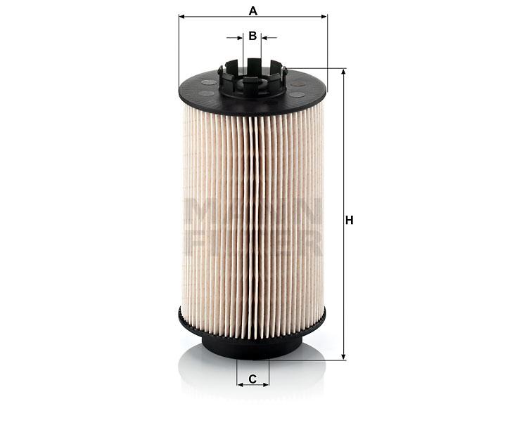 PU 1059 x Kraftstofffilterelement, metallfrei
