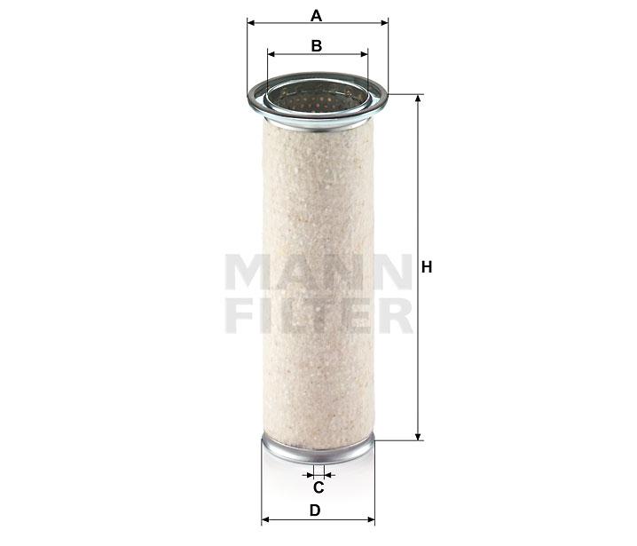 CF 950 Luftfilterelement (Sekundärelement)
