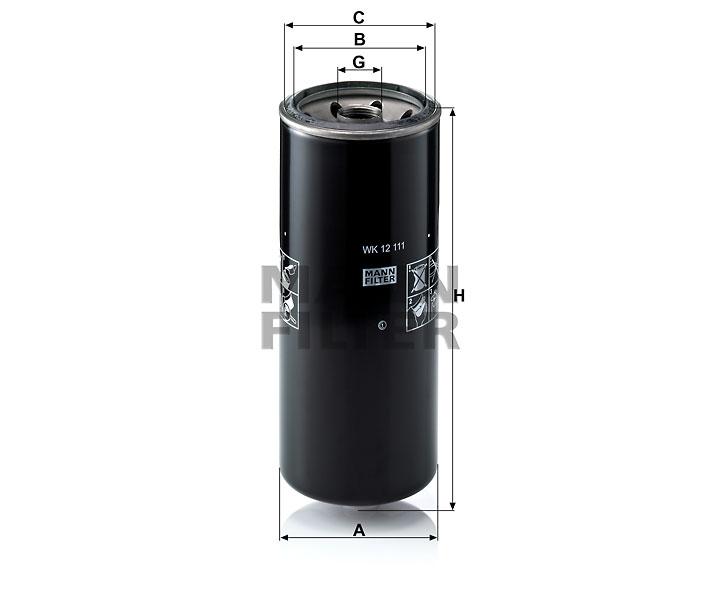 WK 12 111 Kraftstoffwechselfilter