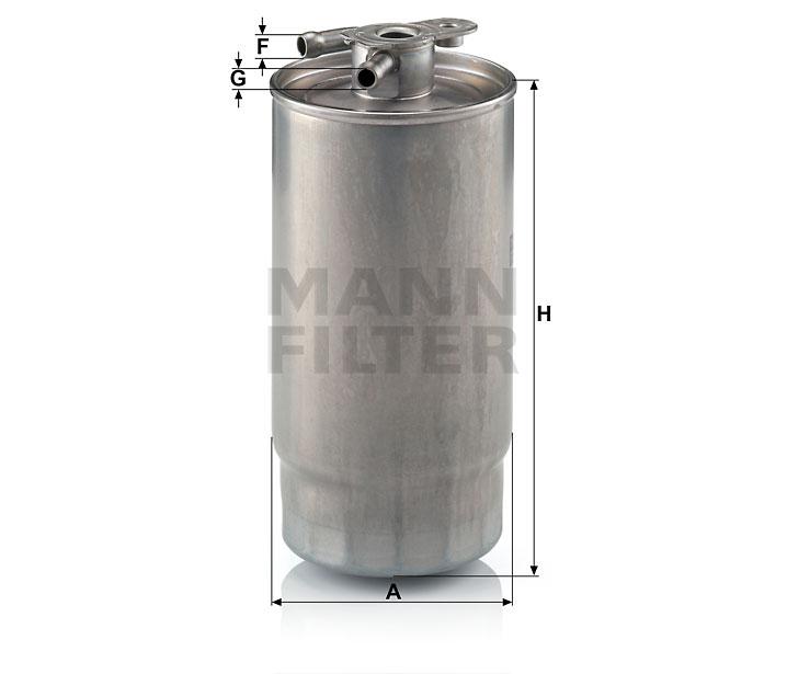 WK 841/1 Kraftstoff-Leitungsfilter (Inline)
