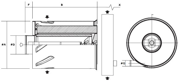 B100067 Luftfilter AxialSeal FLB