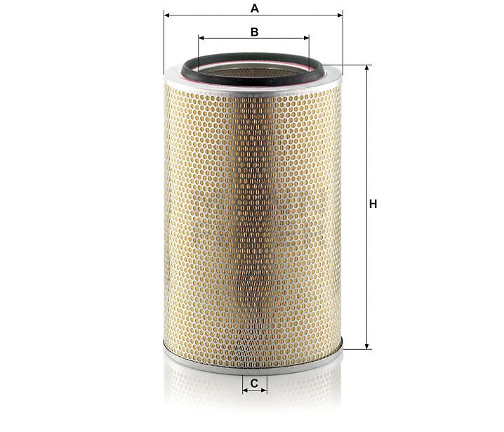 C 30 850/7 Luftfilterelement