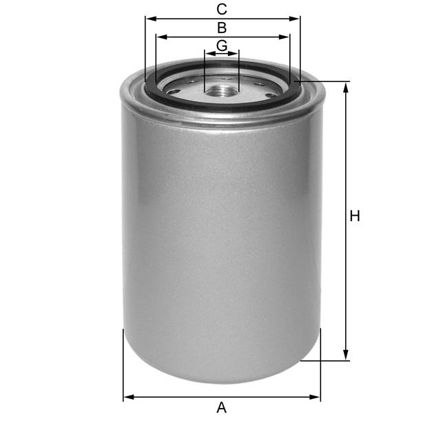 ZP545AS Wechselfilter SpinOn (Kühlflüssigkeit)