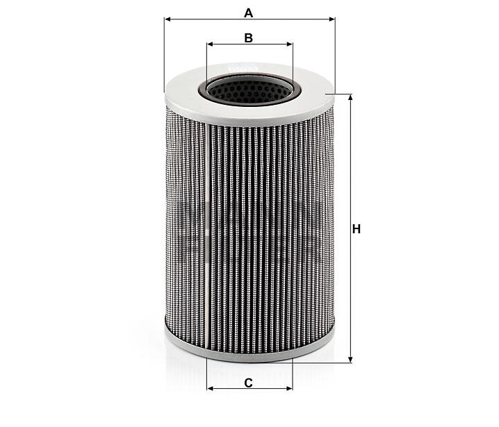 HD 1258 Flüssigkeitsfilterelement