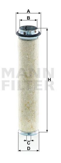 CF 700 Luftfilterelement (Sekundärelement)