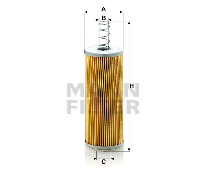 C 718/1 Luftfilterelement