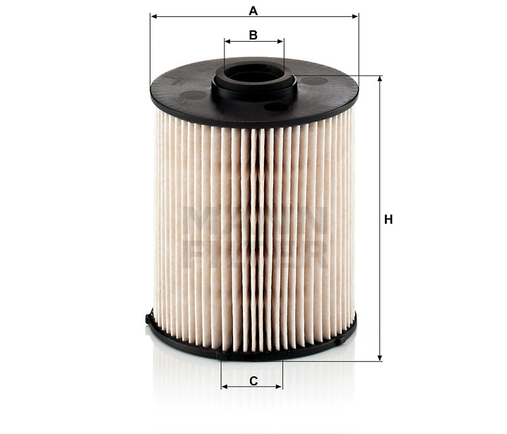 PU 839 x Kraftstofffilterelement (metallfrei)