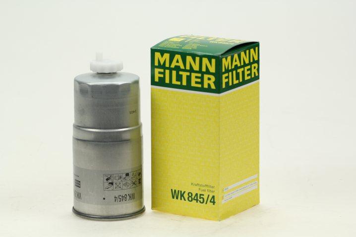 WK 845/4 Kraftstofffilter SpinOn