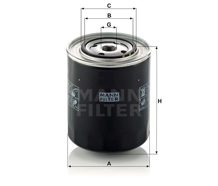 WD 950 Ölfilter SpinOn