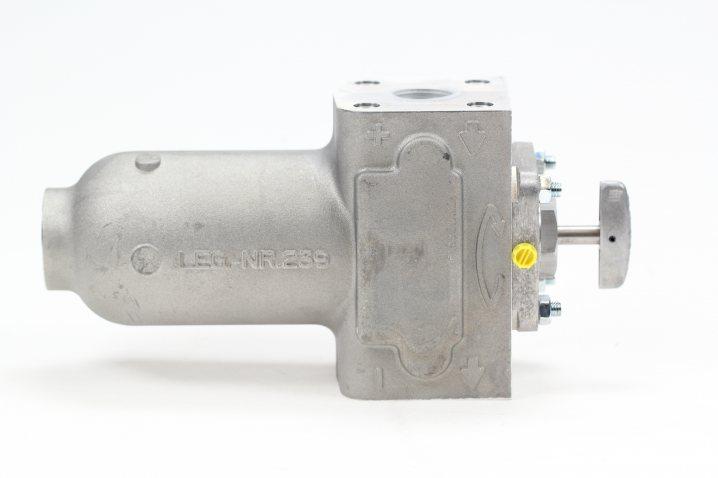 KMGP00012 Plattenspaltfilter, 0,2 mm Spaltweite