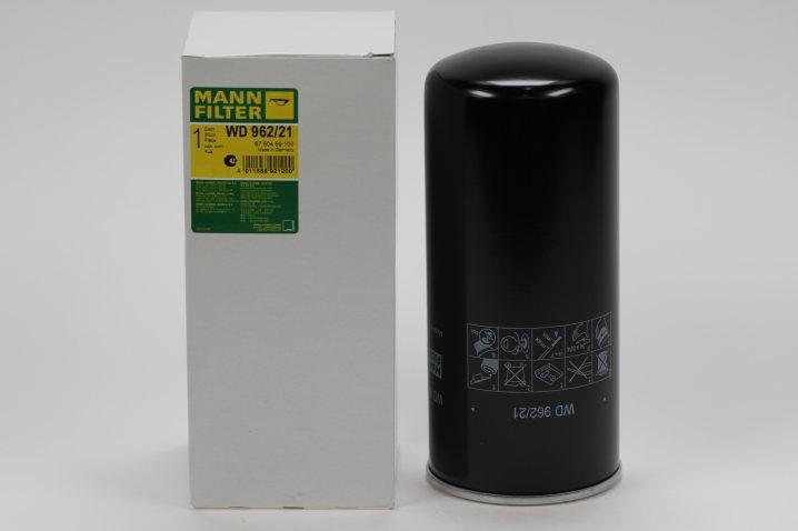 WD 962/21 Wechselfilter SpinOn Glasfaser