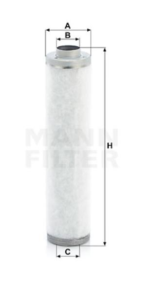 LE 12 002 Luftentölelement
