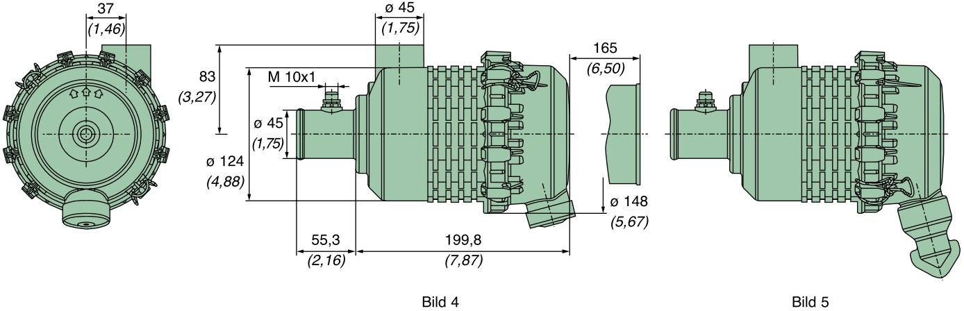 45 050 92 911 Luftfilter (Europiclon)