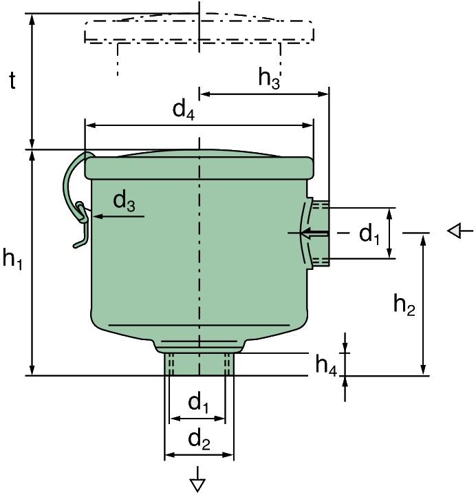 "45 021 72 105 Luftfilter (Vakuumfilter G 1 1/4"")"
