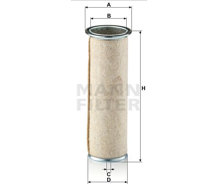 CF 1133 Luftfilterelement (Sekundärelement)