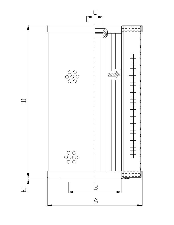WG600 Hydraulikfilter