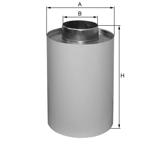 H869 Luftfilter (Aufsteckfilter NW101)