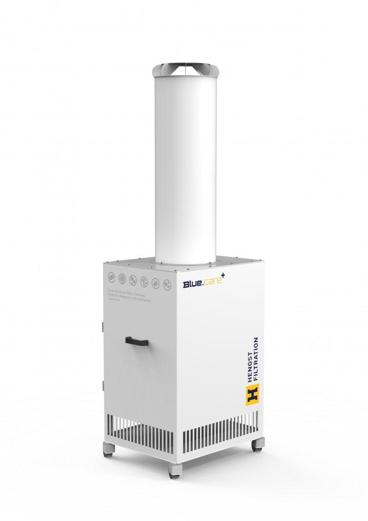 BlueCare+L Antivirales Luftreinigersystem