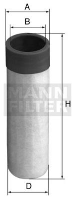 CF 50 Luftfilterelement (Sekundärelement)
