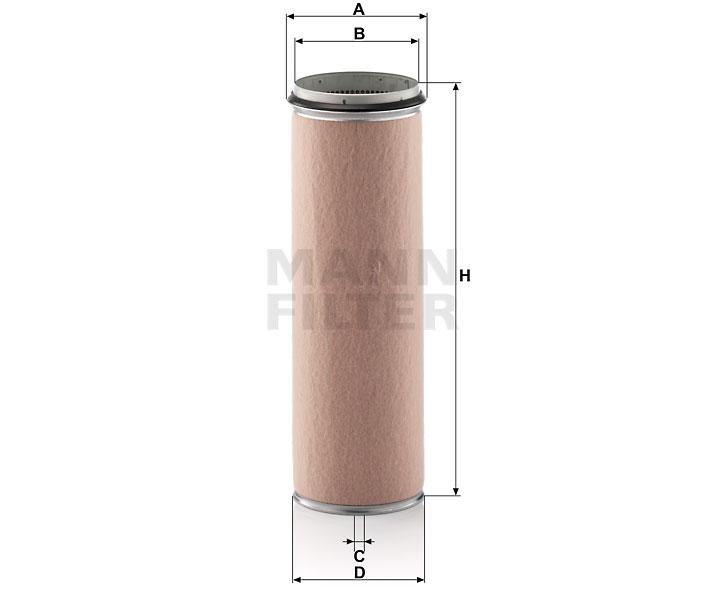 CF 1600 Luftfilterelement (Sekundärelement)