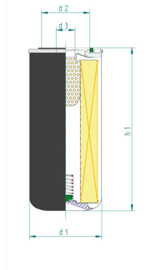 SH8112 Ölfilter SpinOn