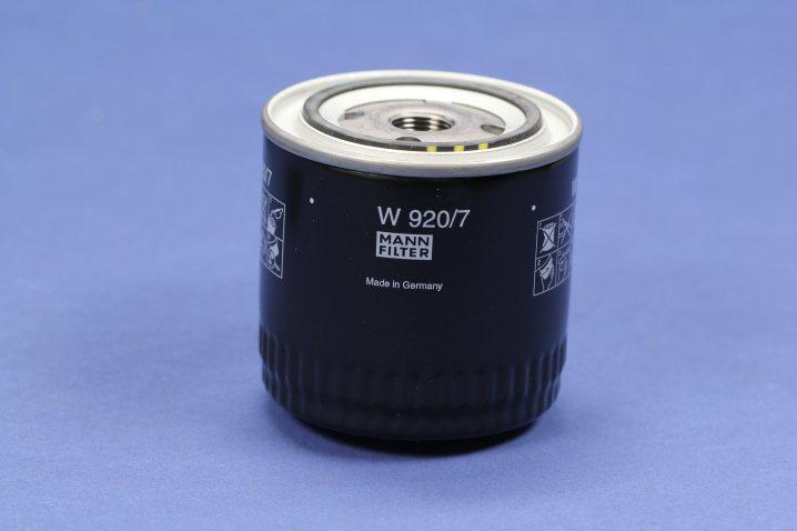 W 920/7 Wechselfilter SpinOn