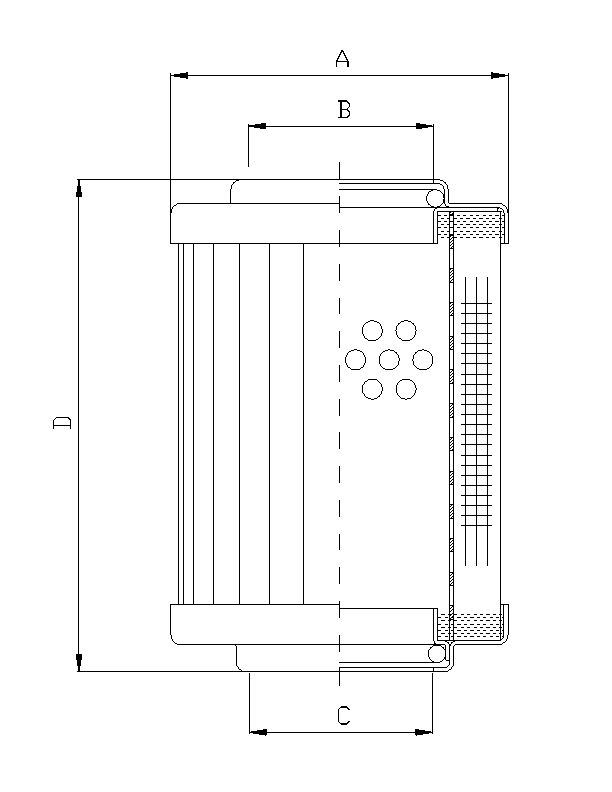 WG900 Hydraulikfilterelement