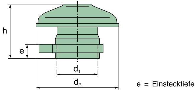 39 015 67 900 Regenkappe PP, D=45mm