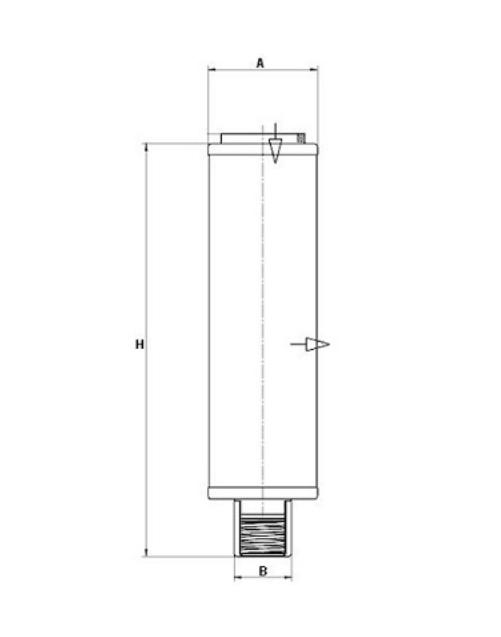 LE 1002 Luftentölelement