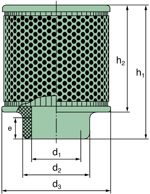 C 17 100 Luftfilter (Picolight NW76)