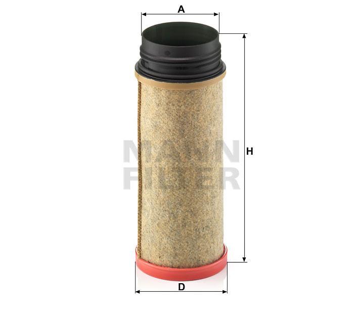 CF 1240 Luftfilterelement (Sekundärelement)