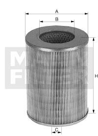 C 420 Luftfilterelement (rund)