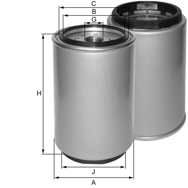 ZP3035F Kraftstoffwechselfilter