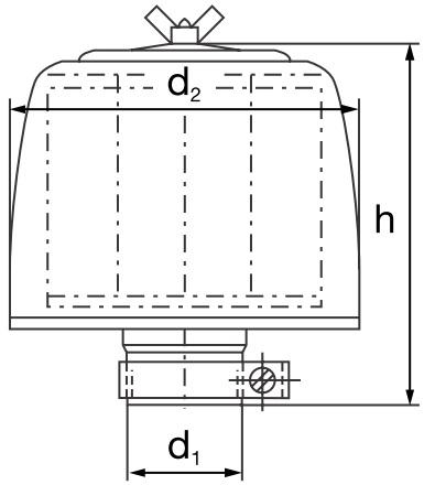 45 375 77 104 Luftfilter (Be- und Entlüftung NW180)