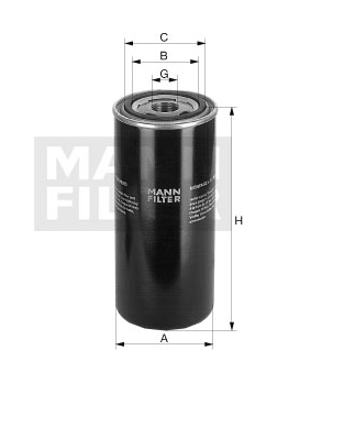 WD 920 Wechselfilter SpinOn